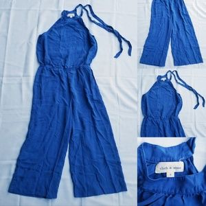 Womens Anthropology Cloth & Stone Jumpsuit Romper